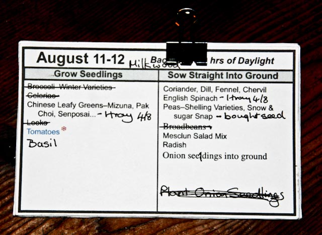 Planting Cards